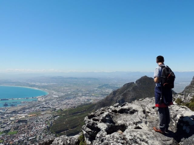 vista dalla Table Mountain, Cape Town