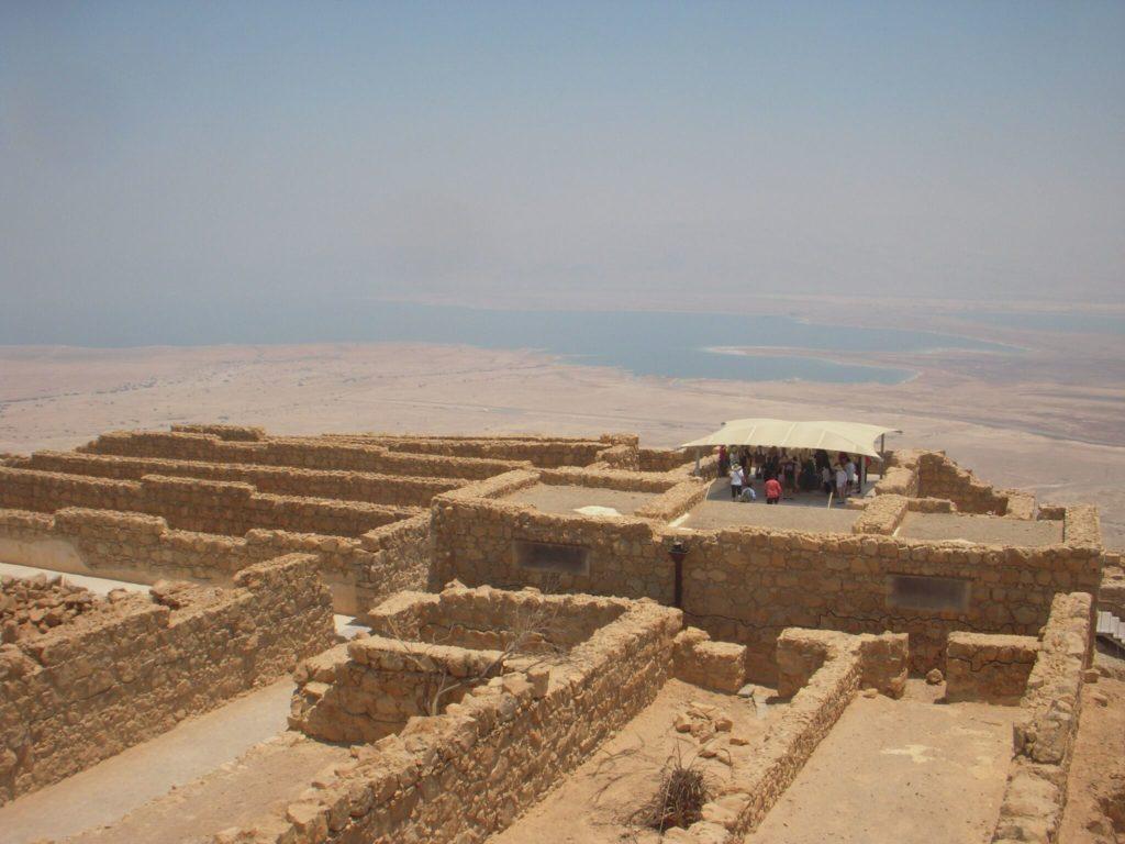 Masada le rovine