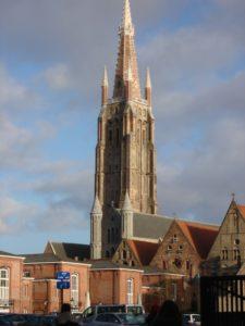 bruges, campanile