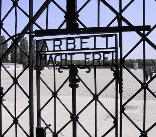 cancello di Dachau