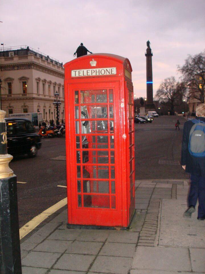 cabina telefonica Londra