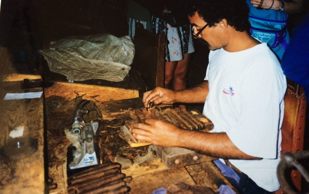 Cuba fabbrica sigari