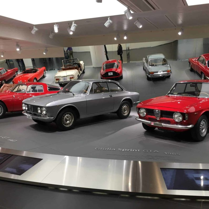 Il museo dell'Alfa Romeo di Arese