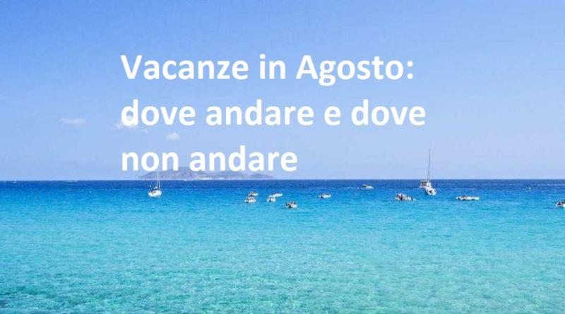 vacanze ad agosto