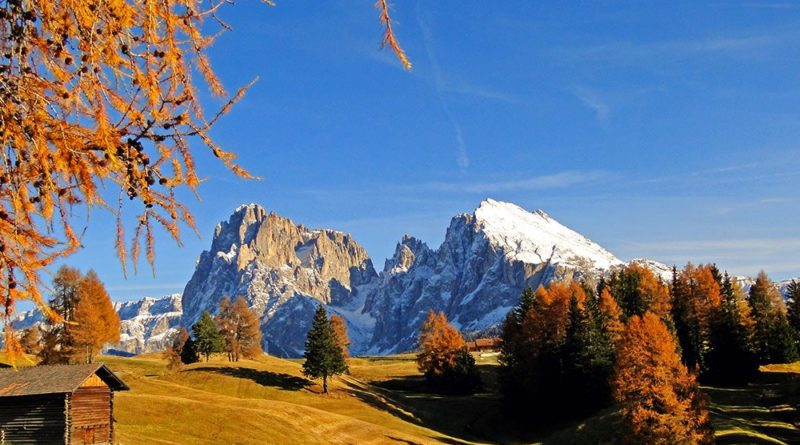 autunno in Trentino e lo spettacolo del foliage