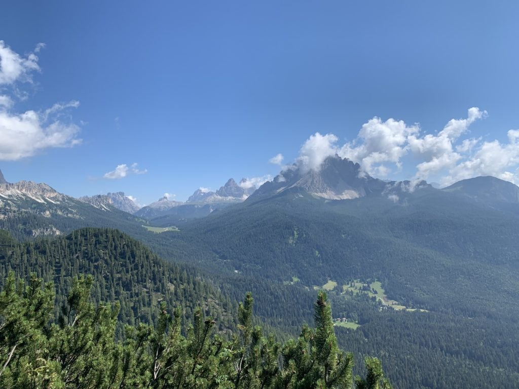 Lago Sorapis e Rifugio Vandelli