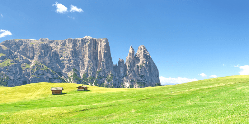 week-end in montagna sulle dolomiti