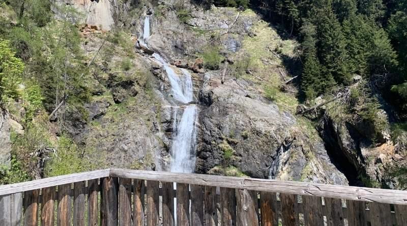 lago di anterselva- cascate del rio gola