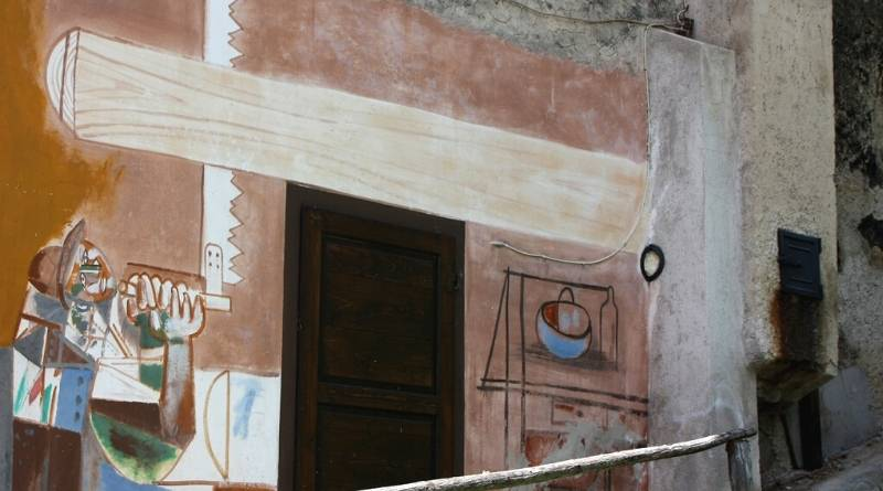 cibiana cadore murales