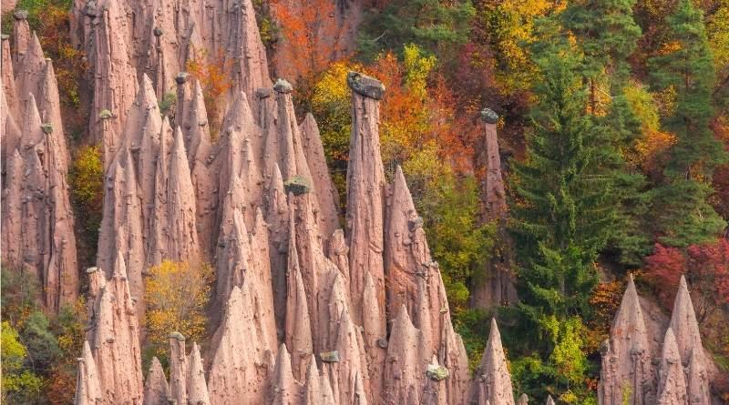 piramidi di terra del renon