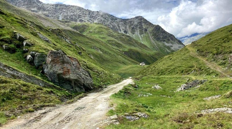 escursione al lago di gola in valle aurina Klammlsee
