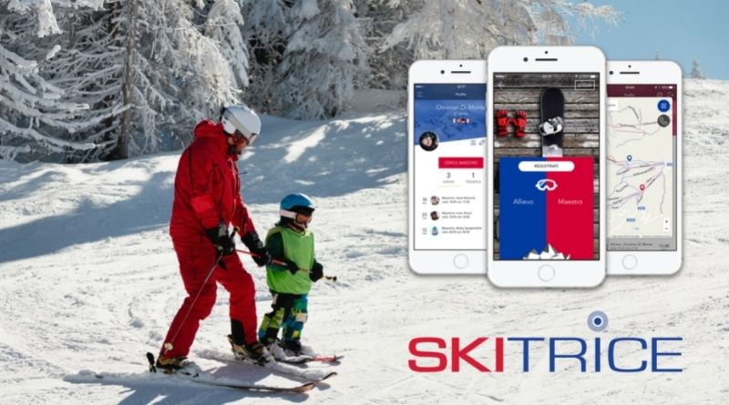 sciare: prenotare lezioni di sci con app skitrice